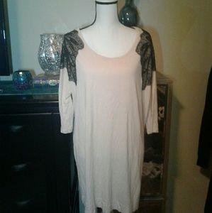 H&M sequin dress/top